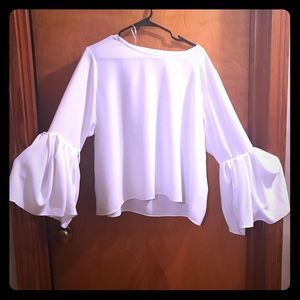 Zara Bell Sleeved Blouse